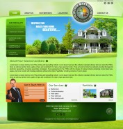 Four Seasons Land Care - Landing Page