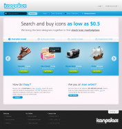 Six Design - Iconspalace homepage