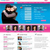 Landing pages for dating sites