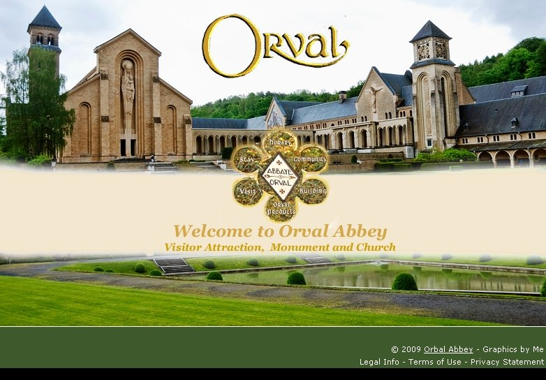 Orval Abbey HomePage