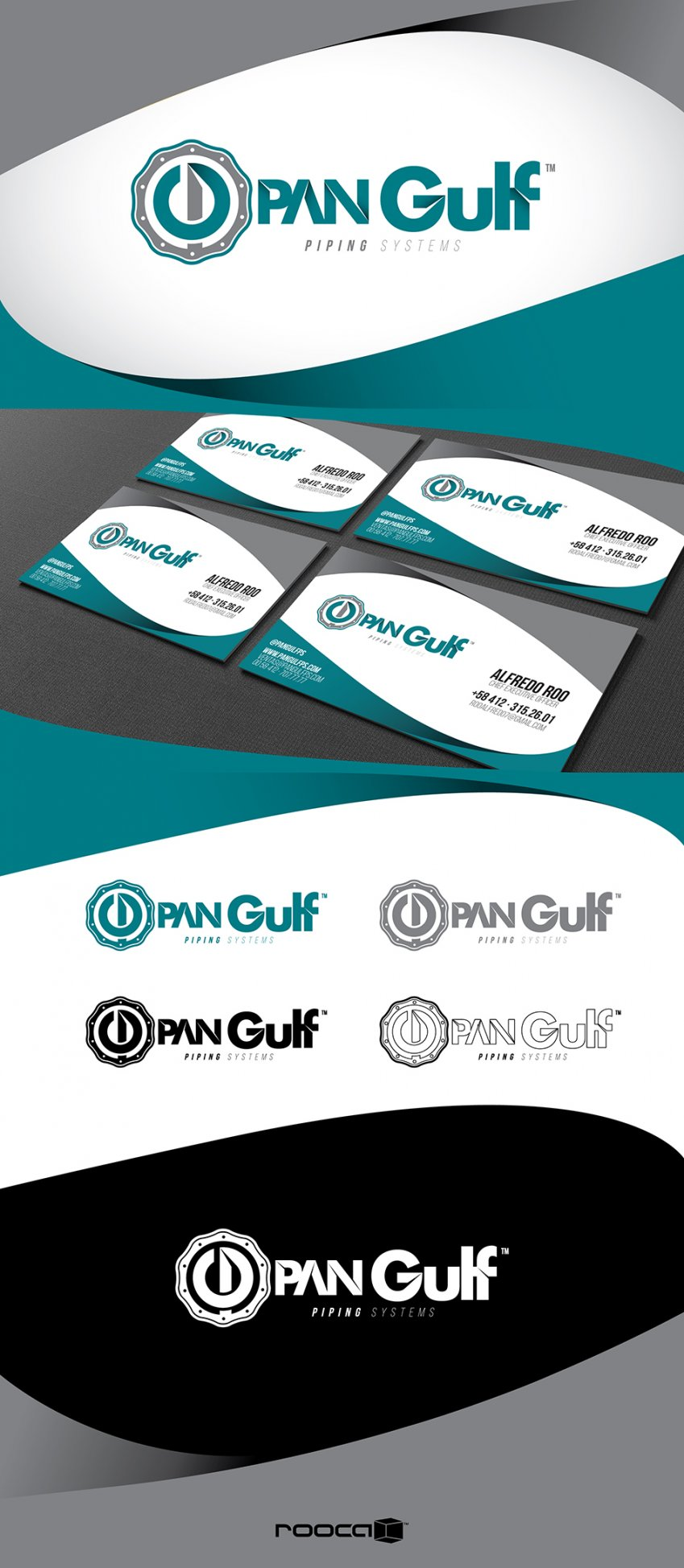 Gulf Piping Systems - Branding Identity - Prop 2