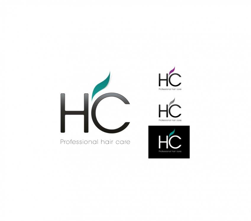 hc hair care logo