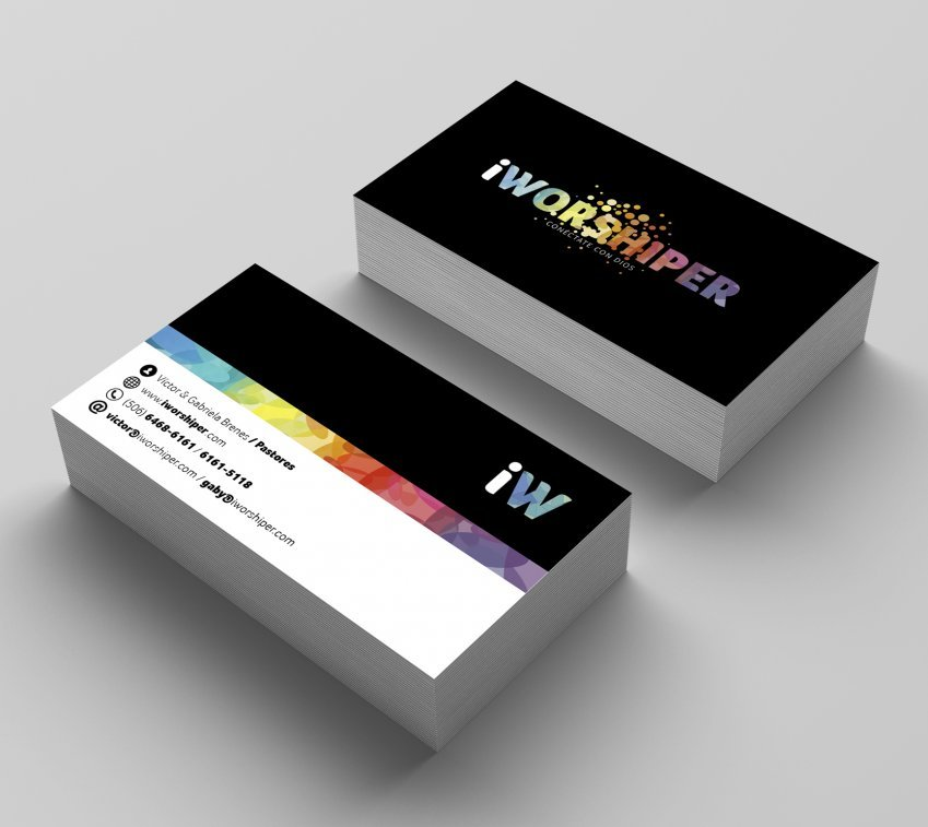 iWORSHIPER final business card