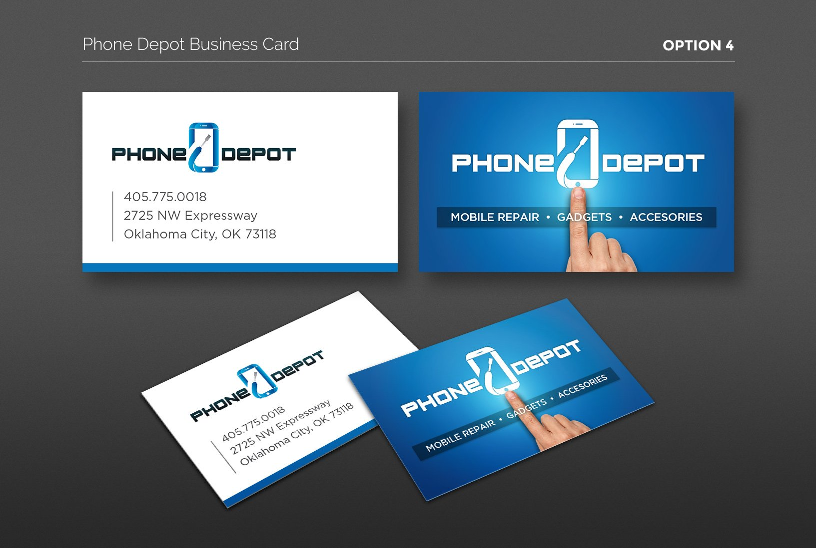 Depot business card design 4 phone depot business card design 4 magicingreecefo Images