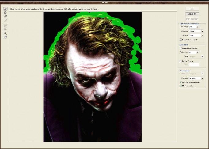 Tutorial Filtro Extraer en Photoshop CS4 - Recortar