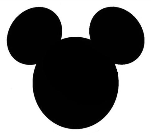 Caras de Mickey Mouse de goma eva - Imagui