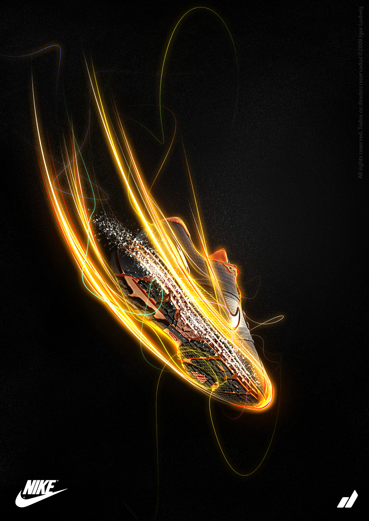 Guerra Creativa Nike Lunar Glide